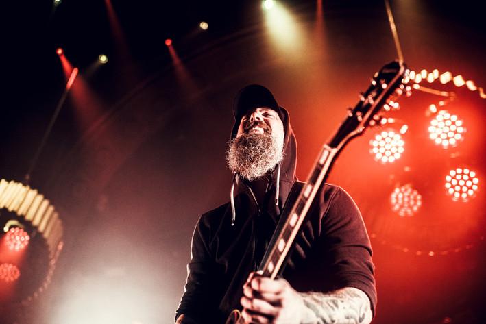 2017-03-20 - In Flames spelar på Berns, Stockholm