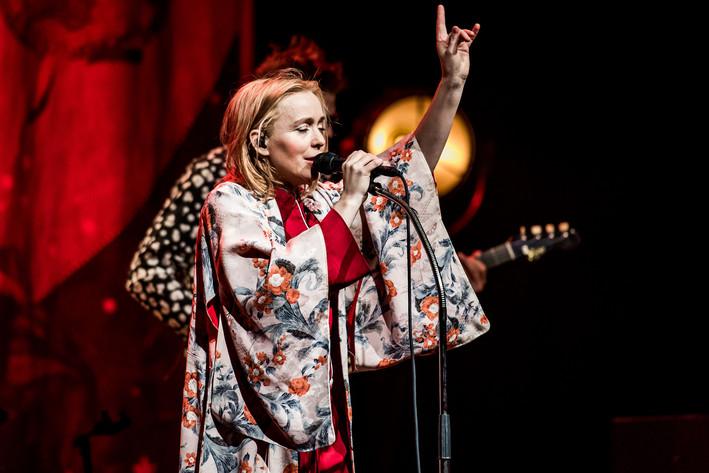 2017-03-26 - Lisa Ekdahl performs at Växjö konserthus, Växjö