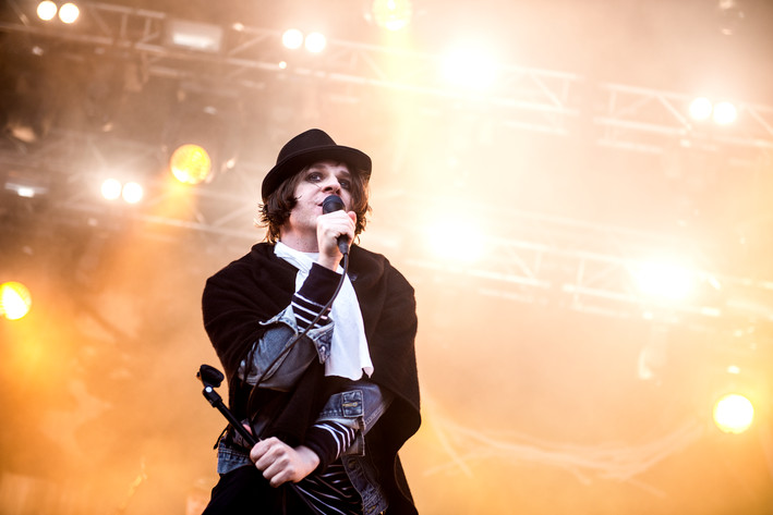 2017-05-24 - Henrik Berggren performs at Gröna Lund, Stockholm