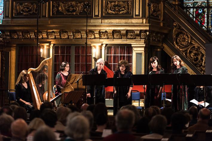 2017-06-05 - Cappella Artemisia performs at Tyska Kyrkan, Stockholm