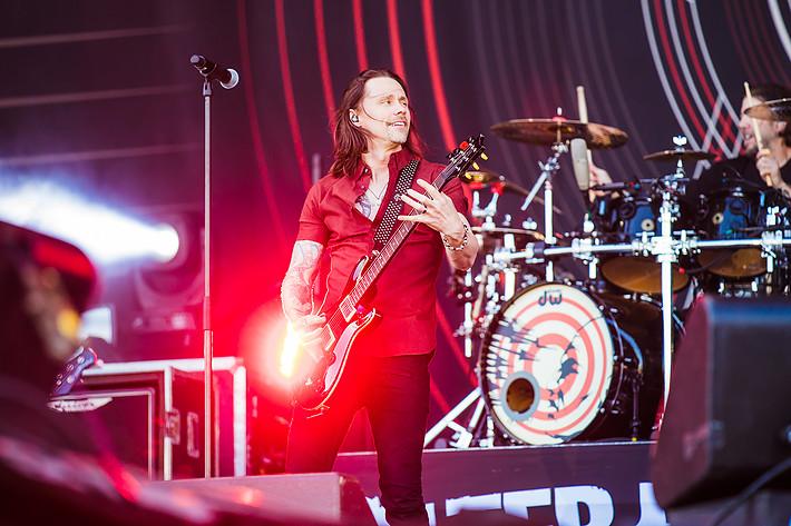 2017-06-08 - Alter Bridge spelar på Sweden Rock Festival, Sölvesborg