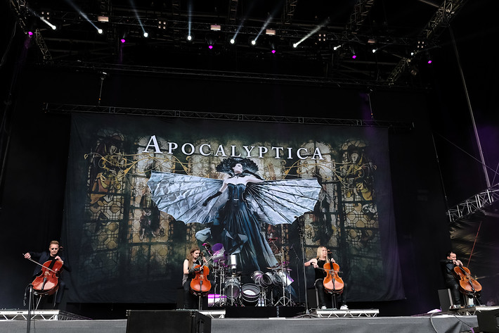 2017-06-09 - Apocalyptica performs at Greenfield Festival, Interlaken