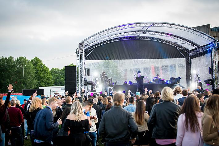 2017-06-09 - Albin Myers spelar på Summerburst Stockholm, Stockholm