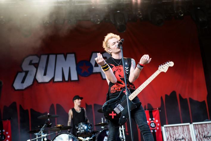 2017-06-21 - Sum 41 performs at Gröna Lund, Stockholm