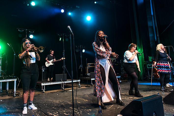 2017-07-06 - Sallyswag spelar på Peace & Love, Borlänge