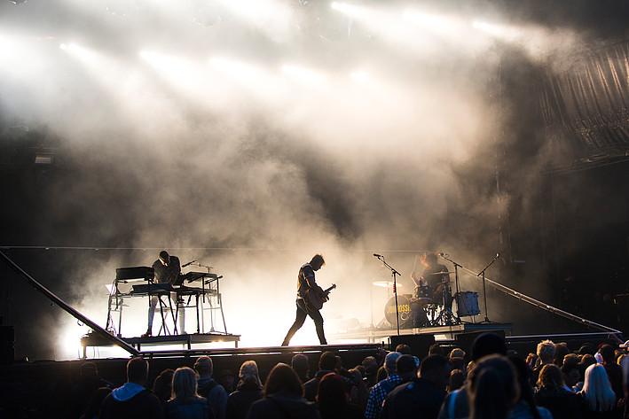 2017-07-08 - Johnossi spelar på Peace & Love, Borlänge
