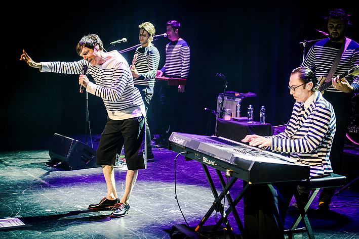 2017-08-10 - Sparks performs at Cirkus, Stockholm