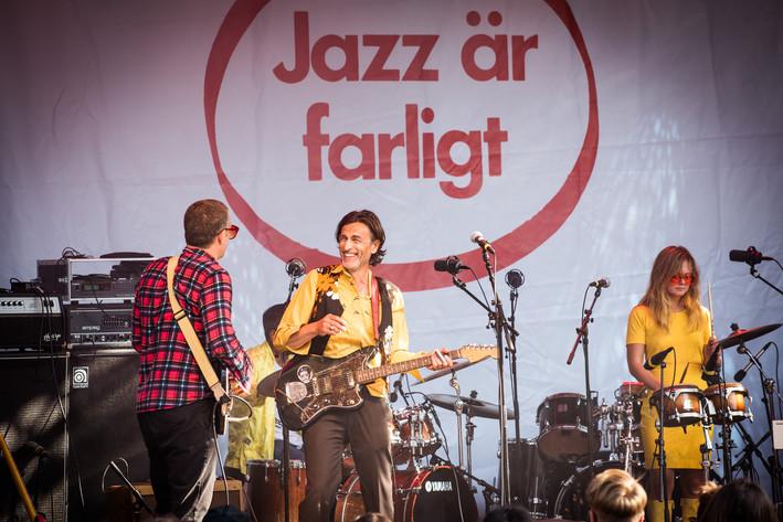 2017-08-16 - Åhlund & Nordström spelar på Liseberg taubescenen, Göteborg