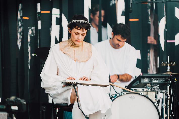 2017-09-01 - El Perro Del Mar performs at Popaganda, Stockholm