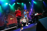 2005-07-09 - Christian Walz spelar på Gatufesten, Sundsvall