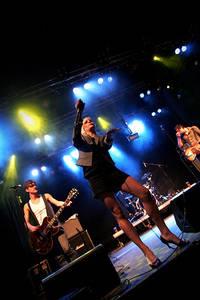 2006-09-01 - The Sounds spelar på Parkenfestivalen, Bodø