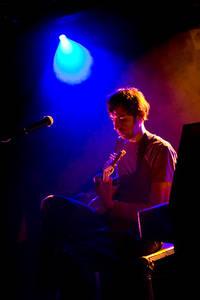 2007-03-22 - Sylvian Chauveau spelar på Debaser Slussen, Stockholm