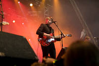 2008-06-12 - Markus Krunegård performs at Hultsfredsfestivalen, Hultsfred