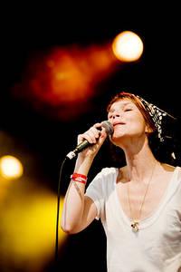 2008-07-04 - Anna Järvinen performs at Arvikafestivalen, Arvika