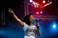 2008-07-04 - Jill Johnson spelar på Gatufesten, Sundsvall