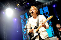 2008-08-02 - Christian Kjellvander performs at Putte i Parken, Karlskoga