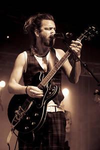 2009-06-27 - Mattias Hellberg & The White Moose spelar på Peace & Love, Borlänge