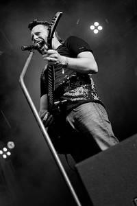 2009-06-27 - Mustasch spelar på Metaltown, Göteborg