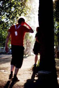 2009-06-27 - Områdesbilder performs at Peace & Love, Borlänge