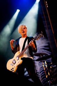 2009-07-30 - Sahara Hotnights performs at Storsjöyran, Östersund