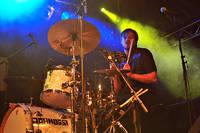 2009-08-29 - Johnossi performs at Skogsröjet, Rejmyre