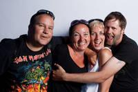 2010-07-03 - Rockfotostudion spelar på Peace & Love, Borlänge