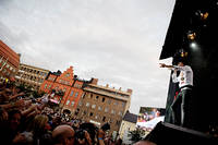 2011-07-30 - Håkan Hellström performs at Storsjöyran, Östersund