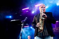 2011-08-06 - Thorleifs spelar på Stortorget, Växjö