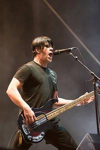 2012-06-15 - Billy Talent spelar på Greenfield Festival, Interlaken