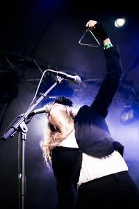 2012-08-19 - Christine Owman spelar på Malmöfestivalen, Malmö