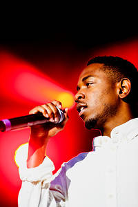 2013-08-10 - Kendrick Lamar performs at Way Out West, Göteborg