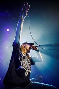 2014-01-03 - At the Gates spelar på Trädgår'n, Göteborg