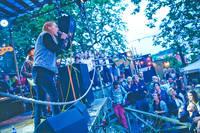 2015-07-11 - Thomas Stenström performs at Trägårn, Uddevalla