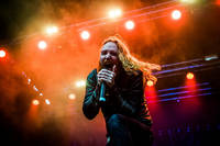 2016-07-16 - Dark Tranquillity spelar på Gefle Metal Festival, Gävle