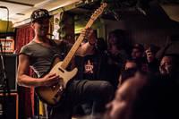 2017-07-29 - De Lyckliga Kompisarna spelar på Kafé de luxe, Växjö
