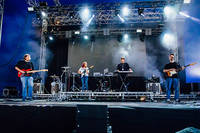 2017-08-10 - The Radio Dept. performs at Way Out West, Göteborg