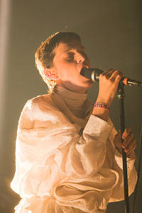 2017-08-10 - El Perro Del Mar performs at Way Out West, Göteborg