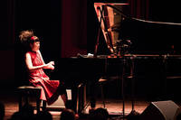 2017-10-08 - Hiromi Duet: Featuring Edmar Castañeda performs at Berwaldhallen , Stockholm